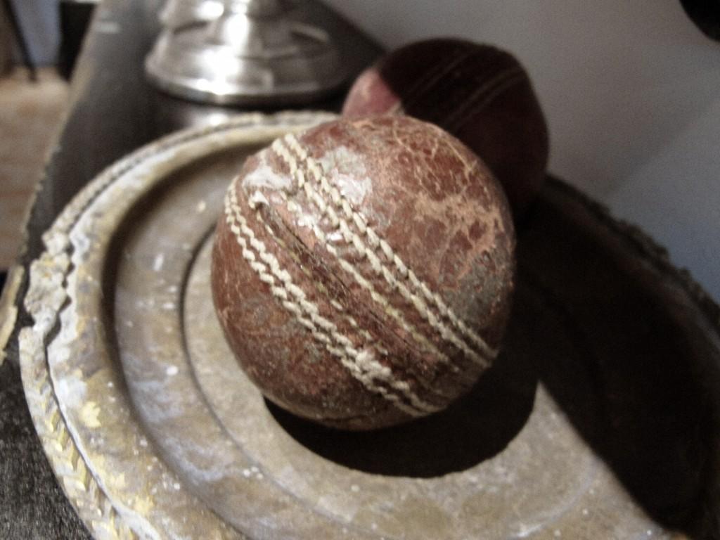 Cricketbollar i inredningen