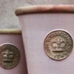 Kew Garden kruka Long Tom i färgen Powder Pink