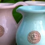 Kew GardenKannor i Tiffany Blue och Powder Pink