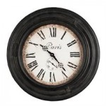 Paris old wall clock