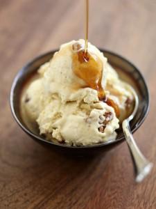 glass med smaksatt honung