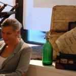 Anna-Karin är ännu en kompis som hjälpt mig kvällar, helger och nätter att måla, städa, kånka och skylta